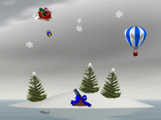 Screenshot of Island Wars 2 Christmas Edition