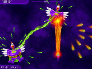 Click to view Chicken Invaders 4.04 screenshot