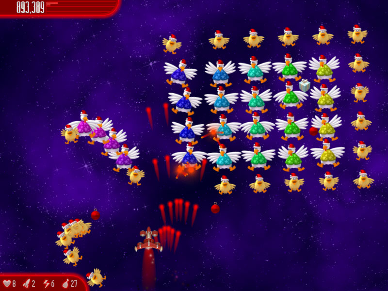 ����� ���� ������ ������� Chicken invaders 4 Christmas Edition 2012 ���� 22 ���� ���