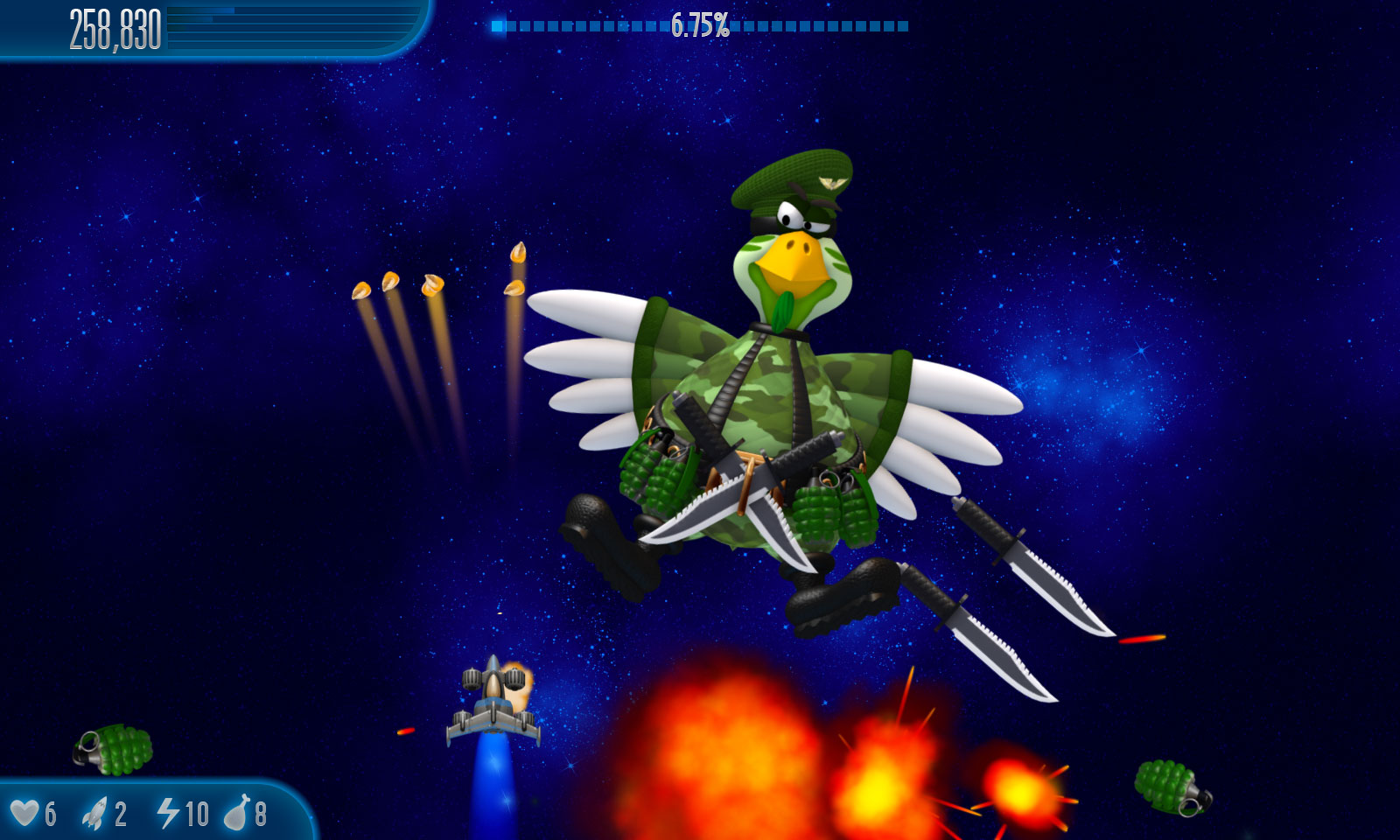 Tải game bắn gà Chicken Invaders 5 - full crack