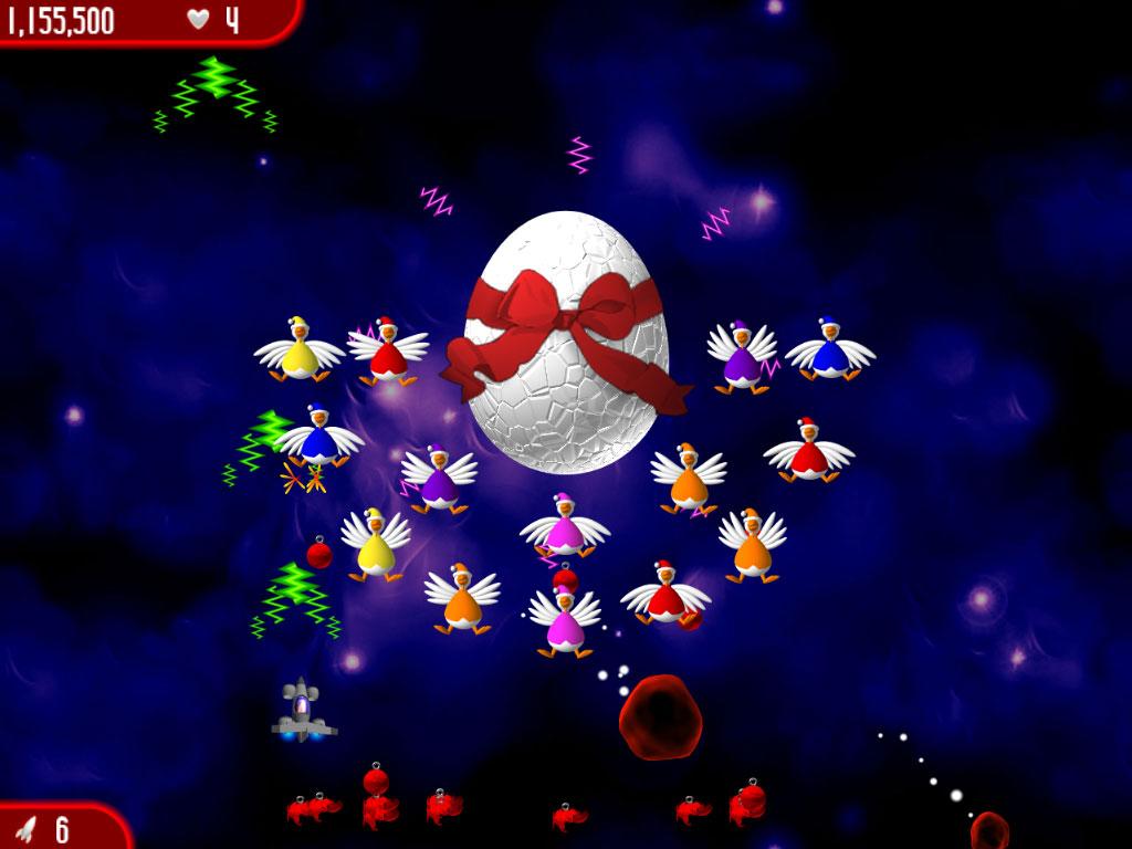 Chicken Invaders 3 Revenge of the Yolk Christmas Edition